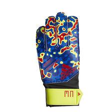 Adidas Predator Mn Junior Soccer Goalie Gloves Yellow/Blue(Spr19) 8 (Dn8605)