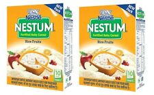 Nestle Nestum Infant Cereal Stage-3(10 to 24 Months)Rice 3 Fruits -300gm x 2pack