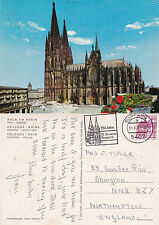 1980's THE CATHEDRAL COLOGNE RHINE GERMANY COLOUR POSTCARD