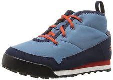 $75 Adidas Kid Snowpitch Chukka Sports Boots Shoe PRIMALOFT Blue Red 4.5 EU 36.5