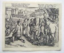 More details for etchings old master crusades gerusalemme liberata plate 111 anton tempesta 1620