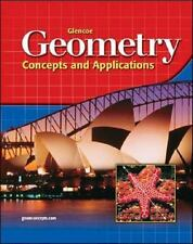 Glencoe Geometry: Concepts and Applications, Student Edition, McGraw-Hill, Very