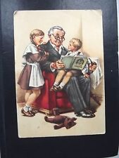 1956. Interesting fairy tale. Artist E.Gundobin. Post card..