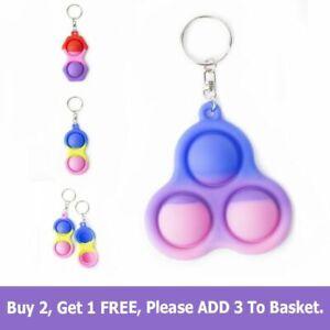 Simple Dimple Special Needs Silent Sensory Fidget Kid Toy Autism Classroom Adult