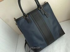 Coach NWT F71640 Business Leather Tote Navy/Black