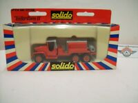 """GMC Citerne """"Pompiers St. Tropez"""" 1955, red, Solido (Made in France) 1:50, OVP"""