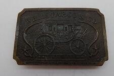 Wells Fargo & Co May 20th 1902 Belt Buckle R11591