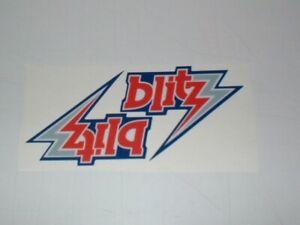 USFL CHICAGO BLITZ MINI SIZE FOOTBALL HELMET DECALS