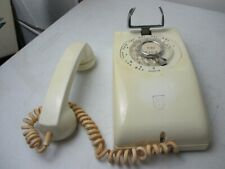 Vintage Stromberg White Wall Phone Complete Used ( Untested)