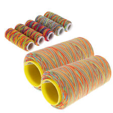7Pcs/Lot Gradient Multicolor Sewing Quilting Embroidery Thread Spools DIY