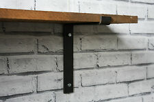 Steel Shelf Brackets X2 Industrial Wall Bracket Scaffold Board Shelving Handmade