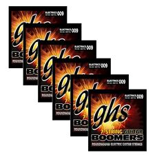 6 Sets of GHS Strings GB7CL 7-String Electric Guitar Boomers Lower Tuning 09-62