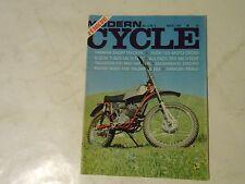 AUGUST 1970 MODERN CYCLE MAGAZINE,PUCH 125,SUZUKI T-500,BULTACO 350,SACAREN,AMA