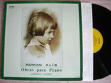 ROMAN ALIS: Obras para piano ALBERTO GOMEZ - Etnos 1982 - FIRMADO POR  ALIS -. -