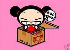 Pucca #3 Hey You  5 X 7 - T Shirt Iron on transfer