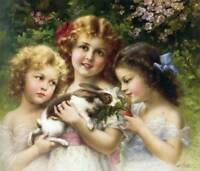 """The Pet Rabbit""  by Emile Vernon"