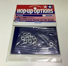 Tamiya 49163 54156 RC 3mm Countersunk Washer 10pcs - Sliver Limited Edition
