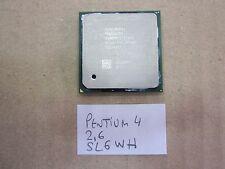 Procesador Intel Pentium 4 2,6 GHz SL6WH Socket 478 CPU FUNCIONANDO