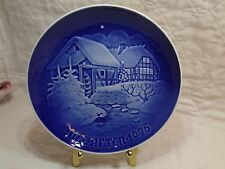 Royal Copenhagen Christmas Plate Jule After 1975 B&G At the Old Water Mill