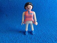 Playmobil Enfermera pantalon blanco camiseta rosa Nurse Krankenschwester