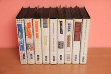 Lot 9 jeux Master System - Shadow Dancer - Wonderboy - SEGA