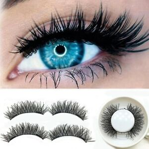 Magnetic Double Eyelashes 3D Reusable False Magnet Eye Lashes Extension Natural