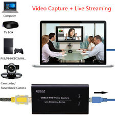 USB3.0 HDMI Video Capture Card 1080P 60fps Game Recording Live Streaming Device