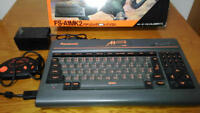 Panasonic MSX2 FS-A1 MK II 2 Game Console Vintage W/Gamepad AC Box Ex++ Working