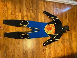 Xcel Infinity DryLock Hooded 5/4 Full Wetsuit Size ML