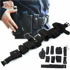Durable Police Security Modular Equipment System Duty Belt Holster Molded Nyon