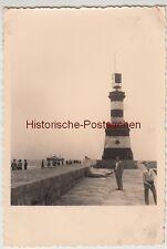 (F12073) Orig. Foto Urlaub in Constanța 1950/60er, Leuchtturm