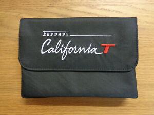 Ferrari California T NEW Owners Handbook/Manual Wallet