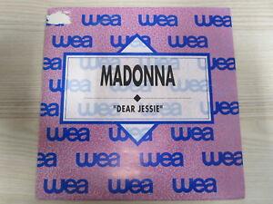 Single /  Madonna – Dear Jessie  / PROMO / WEA / 1989 / RARITÄT /