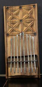Vintage Native made African Mbira, Kalimba, or Thumb Piano