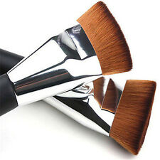 New Professional Flat Head Makeup Cosmetic Blush Contour Foundation Brush Tool