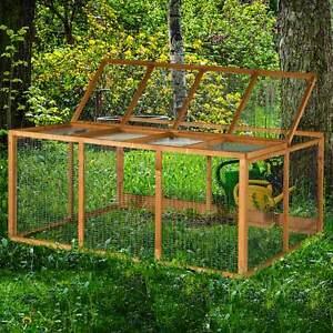 4ft Chartwell Rabbit Run Guinea Pig Cage Outdoor Garden Playpen Fence Deluxe