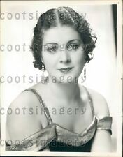 Soprano Radio Singer Thelma Goodwyn  Press Photo