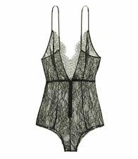 Victoria's Secret Very Sexy Lace romper sz L in black