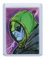 2018 Upper Deck Black Panther Artist Sketch Card by Marshal Baker