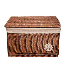 Brown Rattan Wicker Hampers DIY Christmas Gift Basket Hamper Kit Gift Packaging