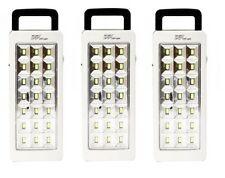 LAMPADA DI EMERGENZA DP 21 LED BIANCO LIGHT RICARICABILE PORTATILE TORCIA 800MAH