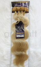 "French Kiss #613 Keratin U-TIP Remy Human Hair Extension 18"" Wavy 100 pcs"
