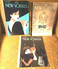 Lot Of 3 THE NEW YORKER Magazines JUNE 6 &13, 20 and 27, 2016