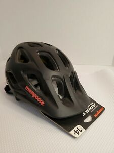 NEW Mongoose Session Adult Adjustable Black Bicycling Helmet - Ages 14+
