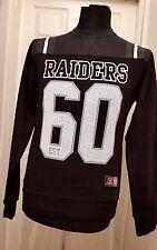 NEW NFT team Apparel Raiders 60 Crew Sweatshirt Welles - S