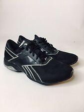 Women 7.5 Reebok Easytone Smoothfit Walking Shoes Black Sneaker Athletic Tone
