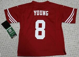 Steve Young NFL Nike San Francisco 49ers Engineered Jersey Kids(Medium 5-6)