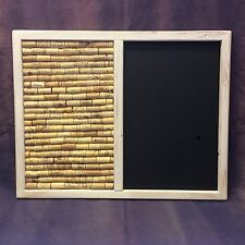 Shabby Chic Cork &  chalk blackboard  / Notice Board