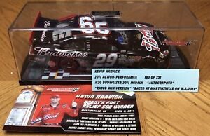 1/24 2011 Action #29 Kevin Harvick Budweiser Martinsville *raced Win*