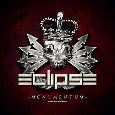 "ECLIPSE ""Monumentum"" CD 2017 (Swedish Melodic Hard Rock) reckless love h.e.a.t"
